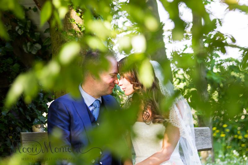 Bruidspaar Caroline en Edwin Zoetermeer