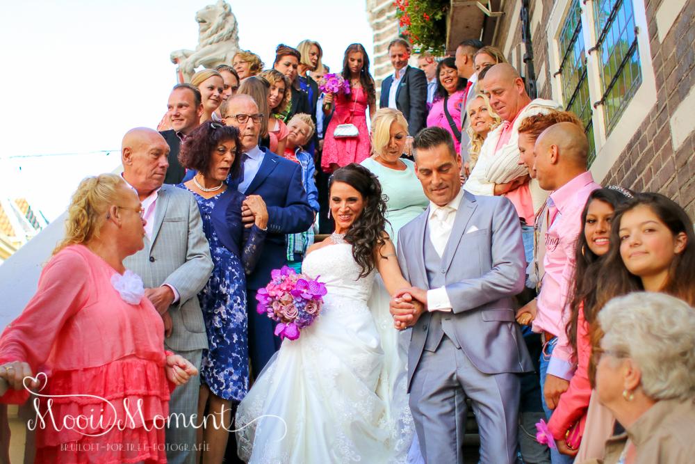 Bruiloft Alkmaar Cindy en Rob Augustus 2014
