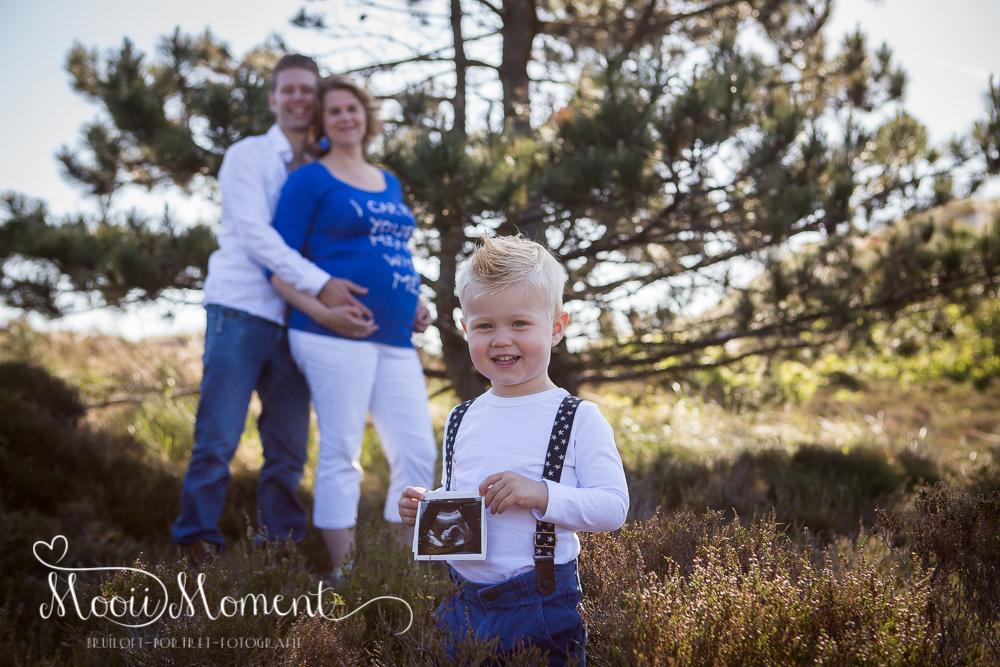 Zwangerschap shoot Hargen aan zee