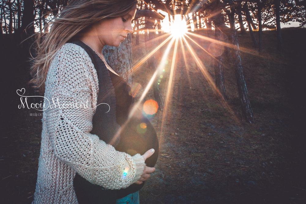 Zwangerschap reportage Danielle