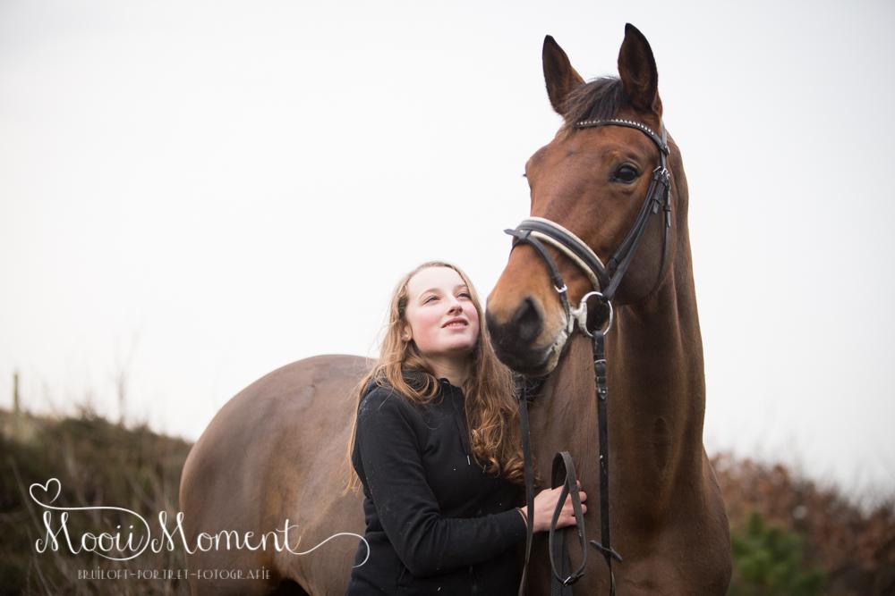 Lifestyle reportage met paard | Hargen aan zee