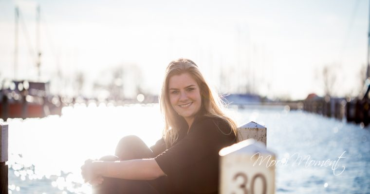 Portretshoot in de haven van Hoorn