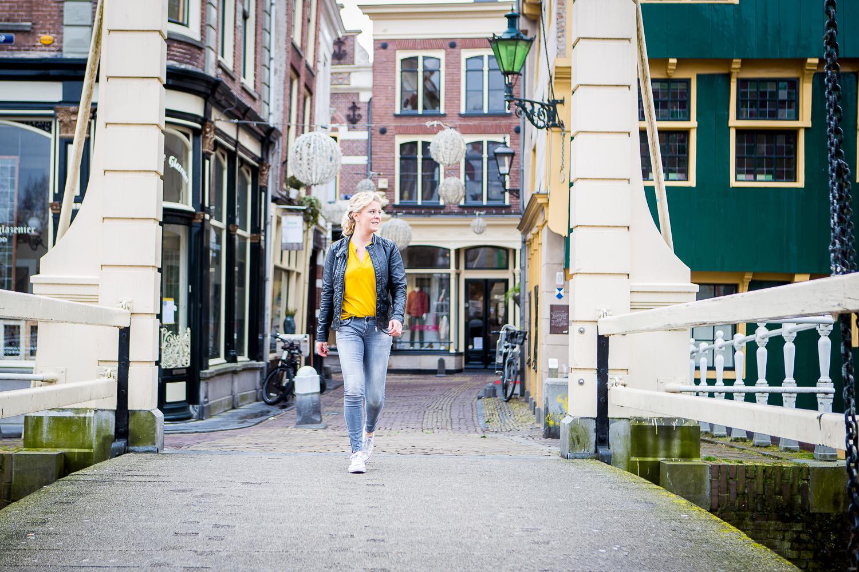Citysessie, portretshoot Alkmaar